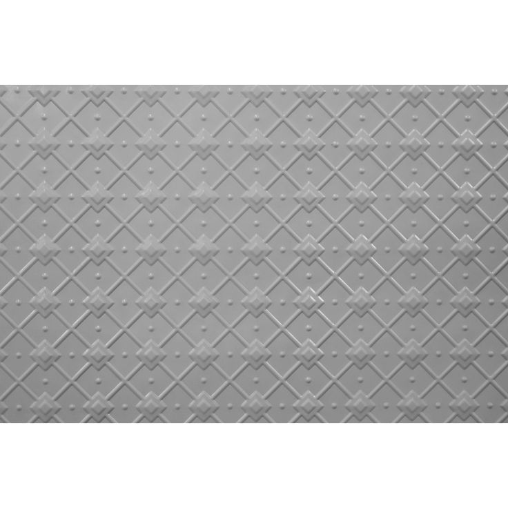 These are attractive pressed metal geometric design originally designed for ceilings and walls, traditional design, also suitable for bathroom and kitchen areas, powder coated with grey finish, can be simply installed or paint with your choice of colour.A detailed installation guide is downloadable from 'Downloads' below.
