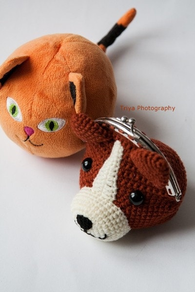 ~ Sweet wallet Dog ~ made by sweetcrochet.nl