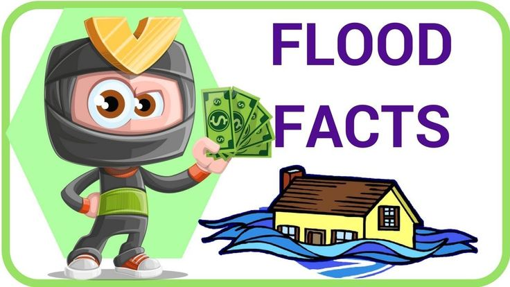 [Weather Facts  2] Flood Facts For Kids - Cartoon Teaching English and S...