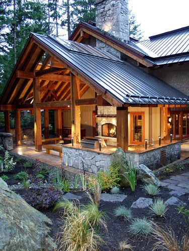 Fabulous back porch extension to this home