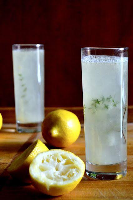 S vášní pro jídlo: Citronáda s tymiánem (a vodkou)