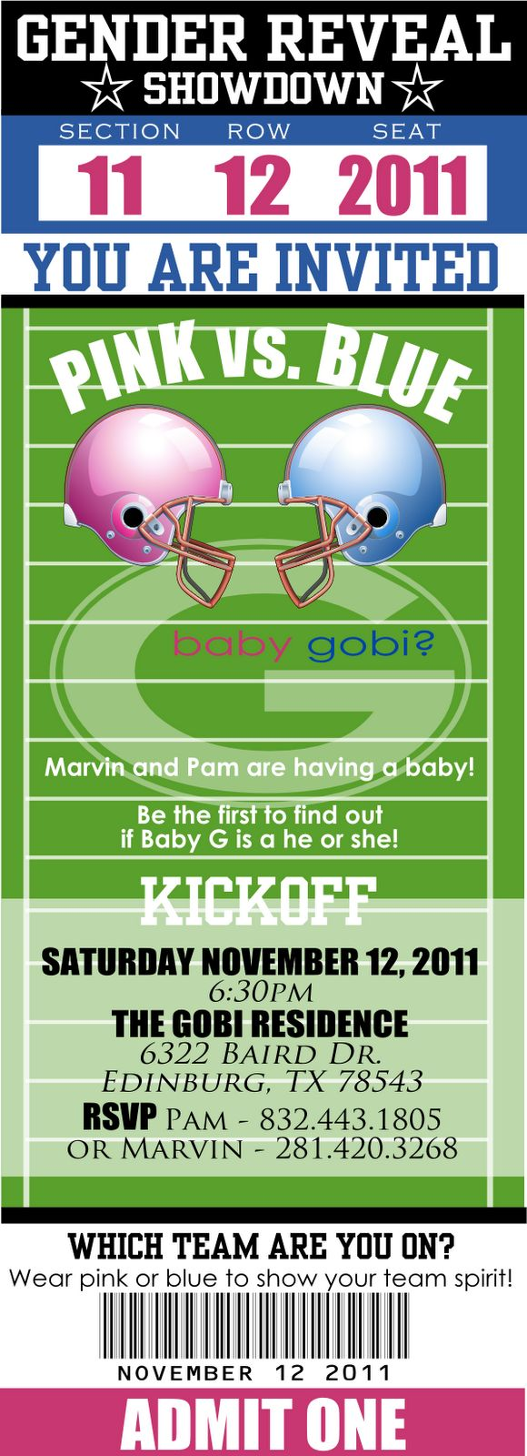 17 Best ideas about Football Invitations – Football Party Invitations