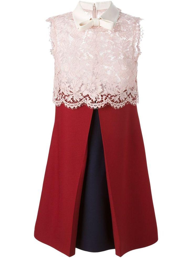 VALENTINO lace top dress