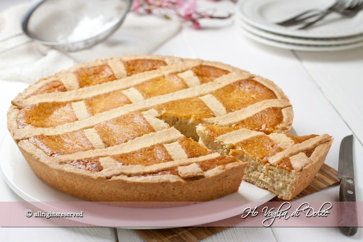 Pastiera napoletana tradizionale, ricetta   Ho Voglia di Dolce