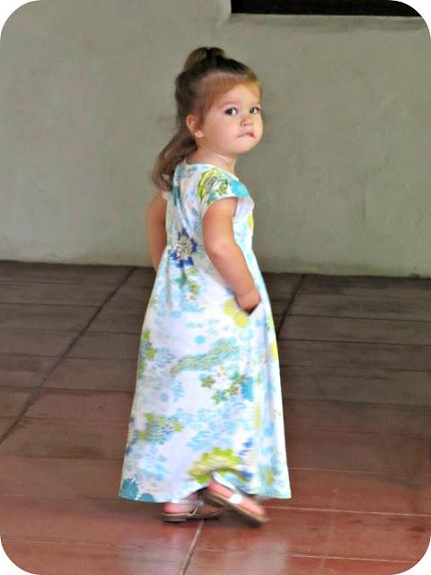Toddler Maxi dress pattern
