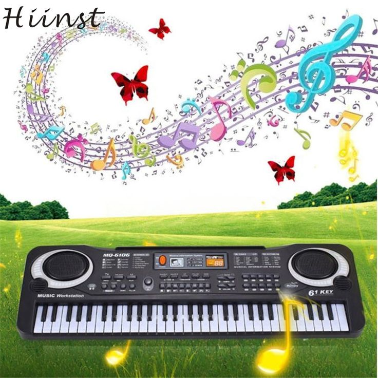 HIINST Modern 61 Keys Digital Music Electronic Keyboard Key Board Gift Electric Piano. Brand Name: HIINSTMaterial: PlasticPlastic Type: ABSType: PianoAge Range: > 3 years oldFeatures: Battery OperatedModel Number: PianoGender: UnisexToy Keyboard Type: Children Learning & Exercising TypeWarning: Do Not EatGuitar Playing Method: Key TypeKnock Piano Scale: 5 ScalesQuantity: 1 pcToy Musical Instrument Type: PianoKids: Kids ToyToy: Toy for ChildrenHIINST Modern 61 Keys Digital Music Electronic…