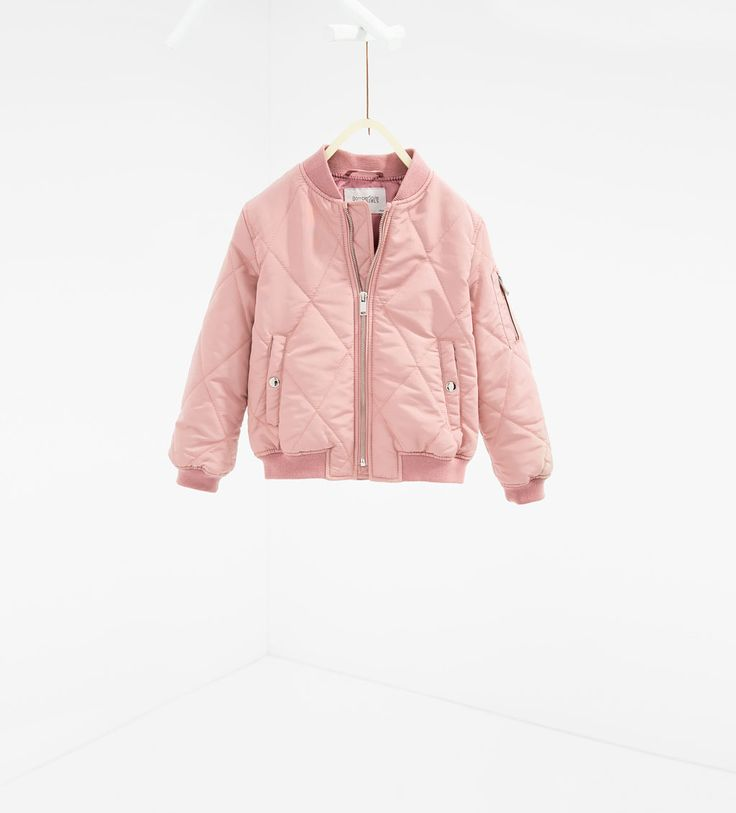 Quilted bomber jacket-Collection-GIRL | 4 - 14 years-NEW IN | ZARA United States
