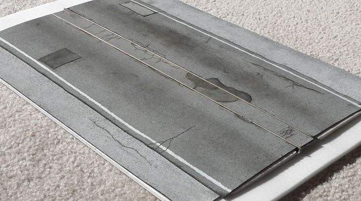 Modeling Asphalt roads | Model Railroad Hobbyist magazine | Having fun with model trains | Instant access to model railway resources without barriers