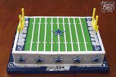 Dallas Cowboys Field Cake   Flickr - Photo Sharing!