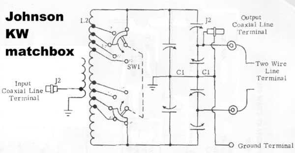 schematic of kw matchbox