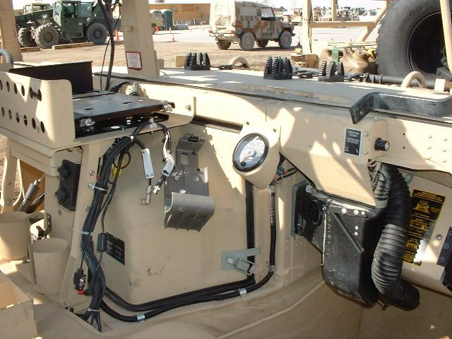 Hmmwv Passenger Compartment View Security Hummer H1