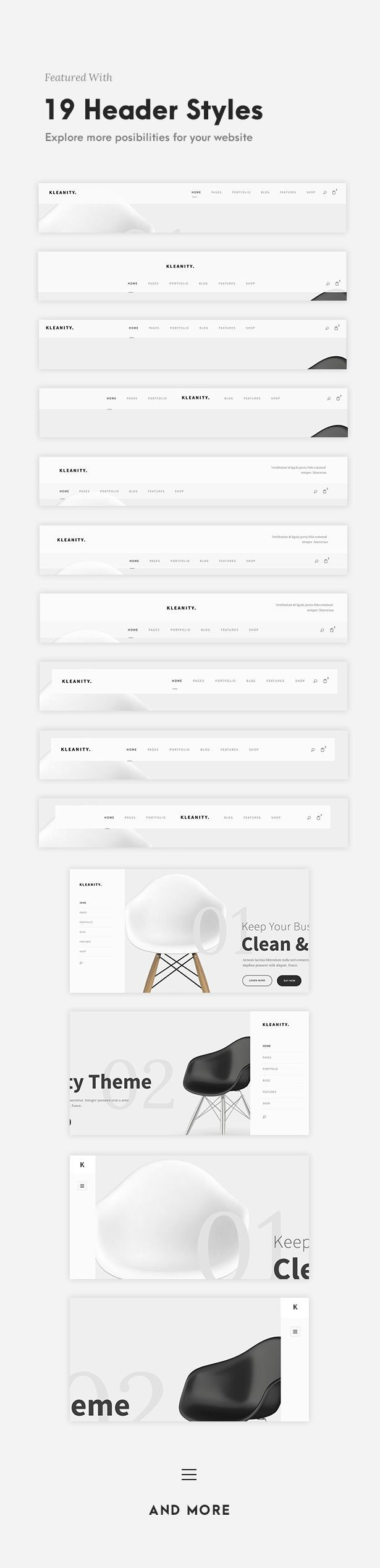 Kleanity - Minimalist WordPress Theme / Creative Portfolio #agency #artist #business • Download ➝ https://themeforest.net/item/kleanity-minimalist-wordpress-theme-creative-portfolio/19133384?ref=pxcr Looking for Food? Download the FREE unique Amazon Discount Finder Chrome Extension now! http://wp.me/p4YZIc-2Bg #deal