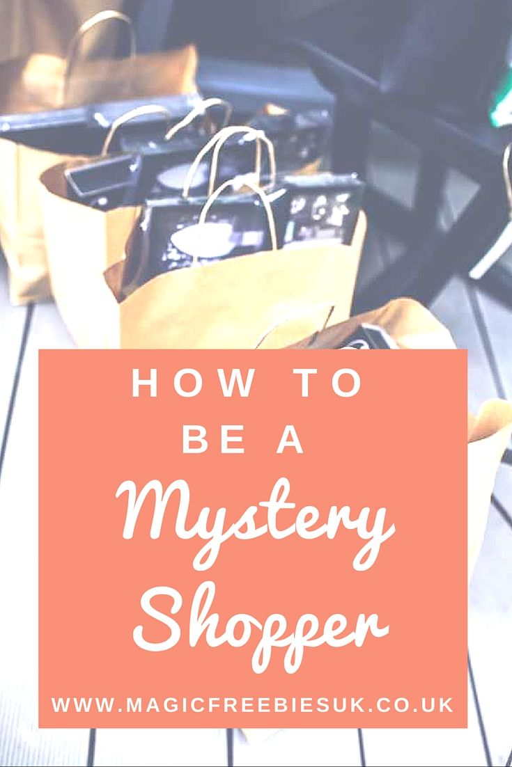 Want to earn some extra cash whilst you go about your day to day life? Read our guide to Mystery Shopping!  #howtoguide #mysteryshopping