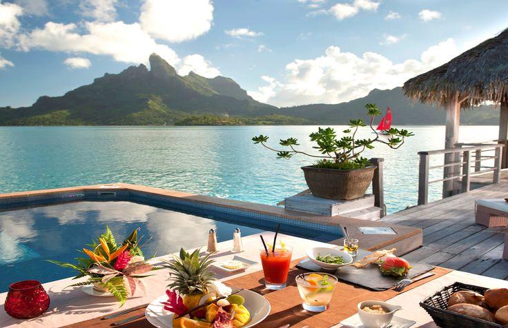 The St. Regis Bora Bora Resort #Paradise #Paradis #Vacation #Semester #Travel #Bora #BoraBora #St #Regis #Resort #Nature #Amazing #Franska #Polynesien #FranskaPolynesien #Beach #Strand #Tropical #Tropiskt #Food #Mat