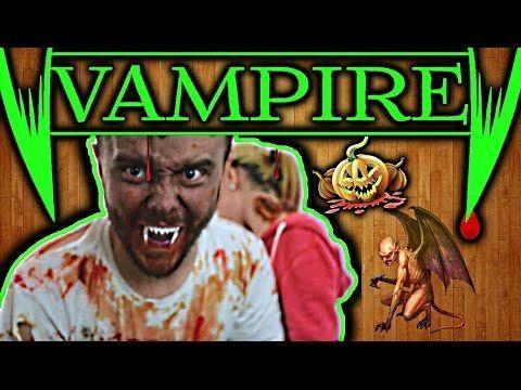 Как сделать клыки вампира для Хэллоуина своими руками / How to make vamp...