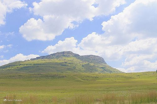 Lone Mountain between Qwa-Qwa & Harrismith