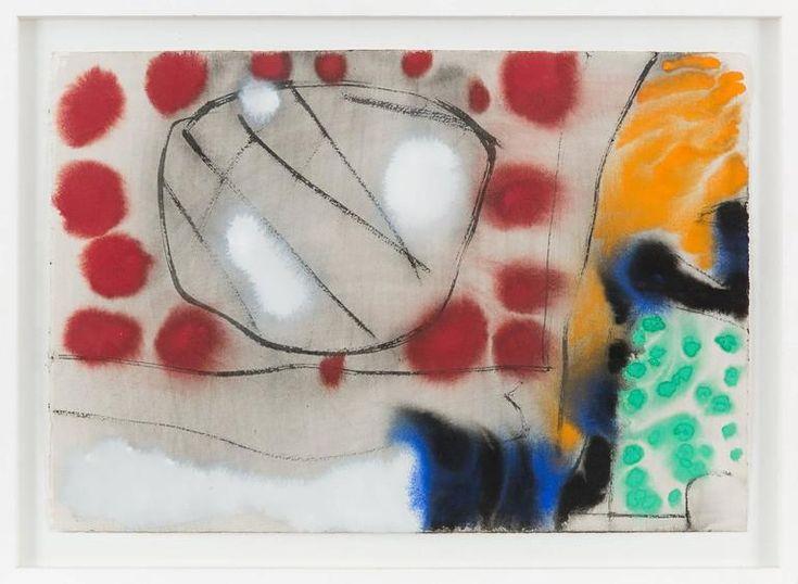 Patrick Heron Mixed Media Art - July 15: 1986: II