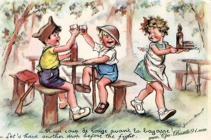Germaine Bouret | Cartes Postales Anciennes