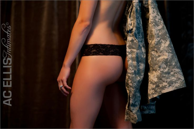 Boudoir shot with his Uniform jacket...could also be a police shirt, fire department, etc.