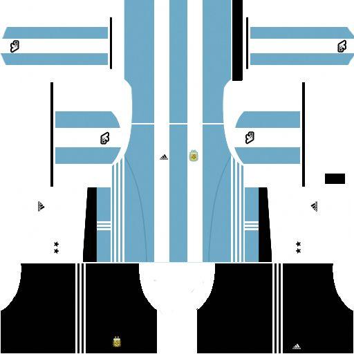 Dream League Soccer Kits Argentina 2017-2018 DLS Kits and Logo URL   soccertips  b0e13bd396dee