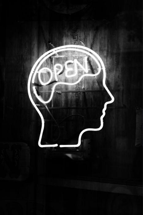 maintain an open mind: Neon Signs, Neon Lights, Neon Art, Neon Light Signs, Lighting Ideas, Neon Lighting, Ideas Anyon, Awesome Art, Mind Neon