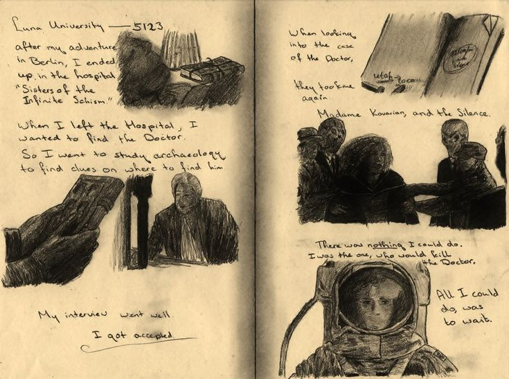 River Song's Diary, Page 3 by 11thDoctor.deviantart.com on @deviantART