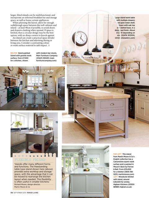 Butler Pendants in Matt Black spotted in Septembers issue of Period Living