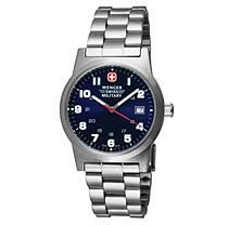 Wenger Swiss Military Classic Field Watch - Blue Dial Bracelet