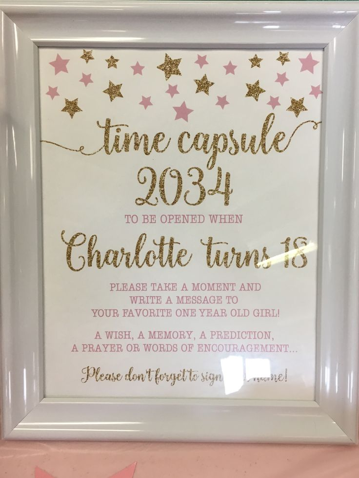 Best 25+ Time Capsule Birthday Ideas On Pinterest