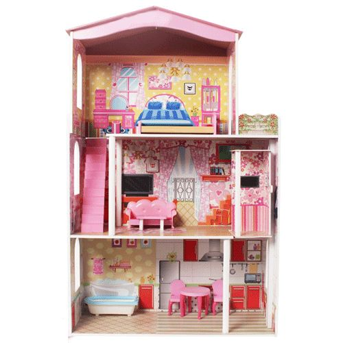 12 best large dolls houses images on pinterest doll. Black Bedroom Furniture Sets. Home Design Ideas