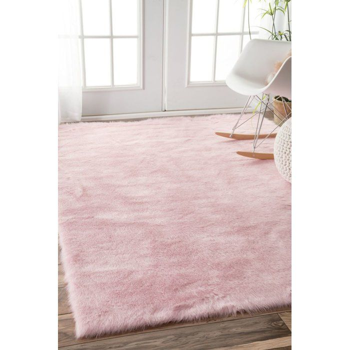 Dazzle Blush Pink Rug: Shadwick Pink Area Rug In 2019