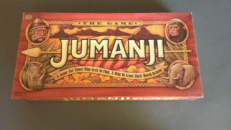 JUMANJI 1995 Board Game -Complete,VGC- Movie Games That Pursues You #MiltonBradley