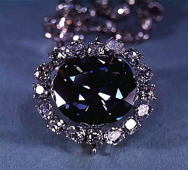 The cursed Hope Diamond..