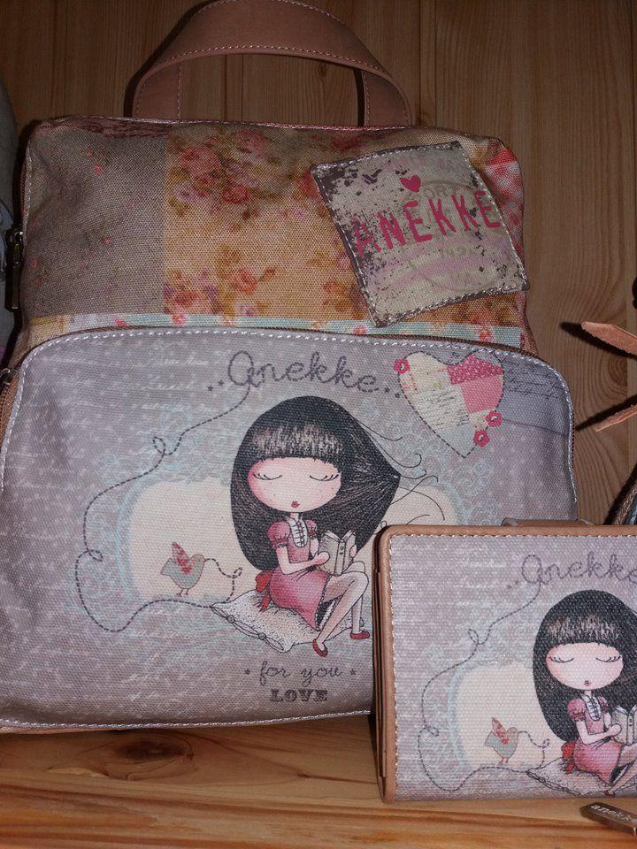 Batoh a peňaženka z kolekcie Sweet od Anekke <3
