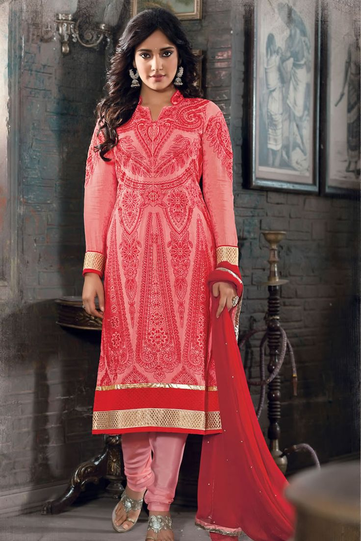 Designer Party Wear Neha Sharma Style Straight Cut Suits.