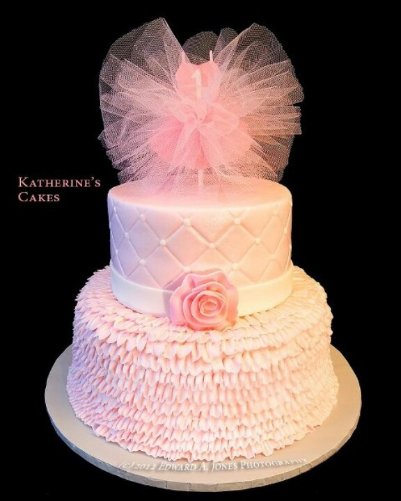 Tutu birthday cake