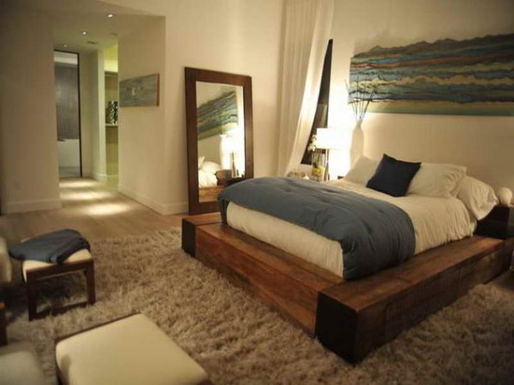 howtomakeamirrorframe frames how to make diy platform wood bed frames with mirror diy projects to try pinterest wood beds bed frames and - Bed Wood Frame