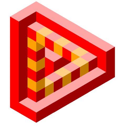 Mejores 7 im genes de figuras imposibles en pinterest - Figuras geometricas imposibles ...
