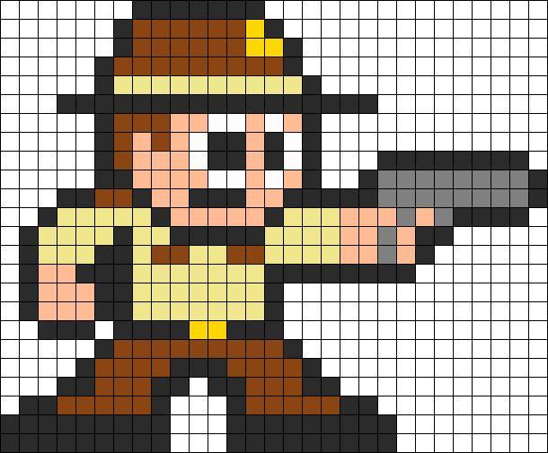 pixel art walking dead