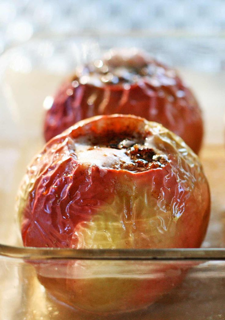 Classic baked apples! Filled with pecans, cinnamon ...