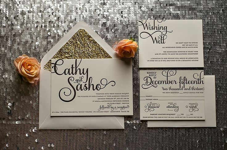ADELE Suite Rustic Package, black and gold wedding invitation, invitation with twine, letterpress wedding invitation, rustic invitations