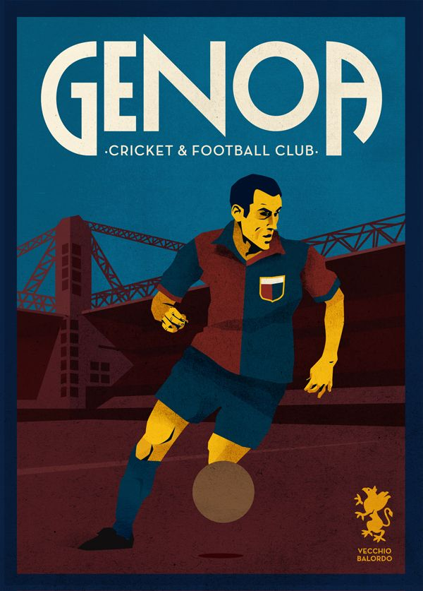 Calcio by Jorge Lawerta, via Behance
