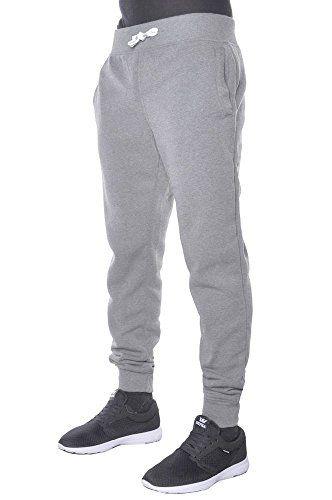 Hat and Beyond Mens Active Fleece Elastic Trouser Casual Harem Jogger Pants   76c937d1784
