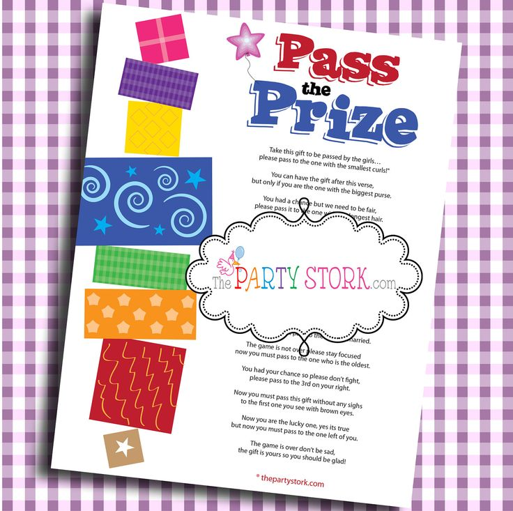 pass the prize fun baby shower game baby or bridal shower more fun boy or girl printable baby shower games available instant download