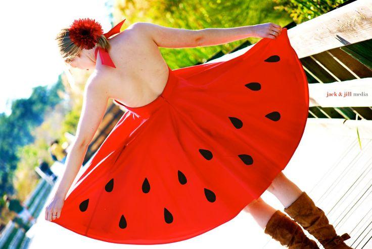 """Whether you're going to a Fourth of July party barbecue or a """"Dress as your Favorite #Fruit"""" theme party, make sure your outfit is festive!"""