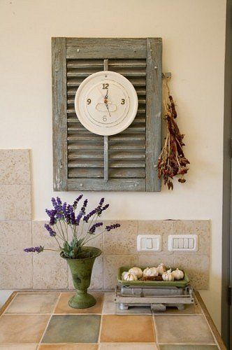 176 best old window projects images on pinterest - Shutters for decoration interior ...