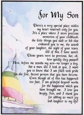 For My Son Birthday Wishes