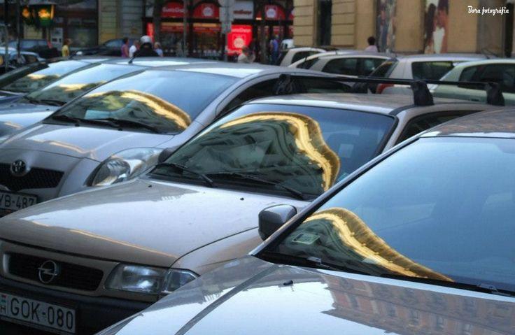 Épülettükör az autókon