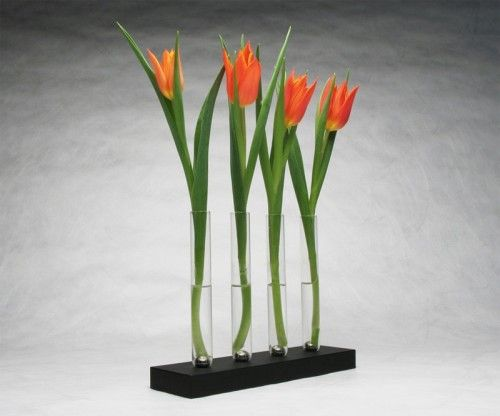 Innovative Magnetic Vase With Unique Flower Arranging Approach   Shelterness