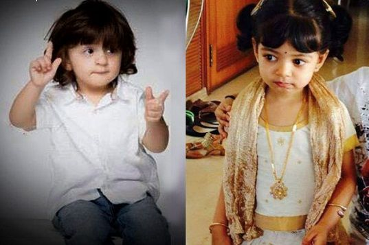 AbRam- Aaradhya to replace SRK-Kajol in future: predicts SRK